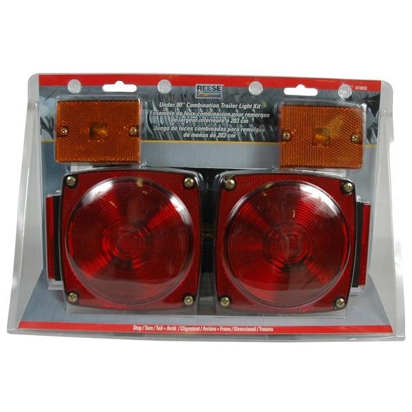Standard Trailer Light Kit, Under 80 Inches