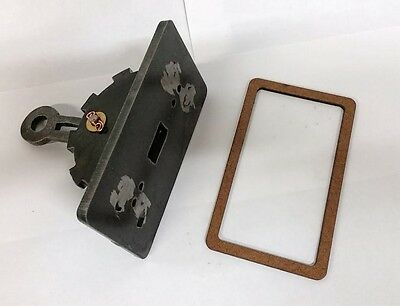 Steampunk Light Switch Cover With Lever  Steel  Functional