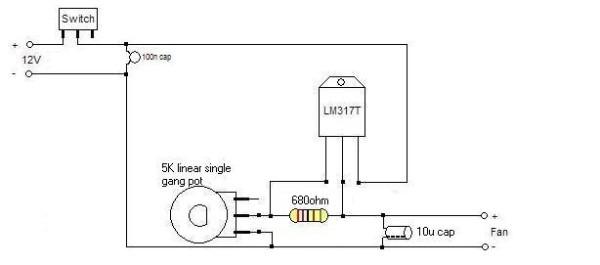 Stir Plate Wire Diagram