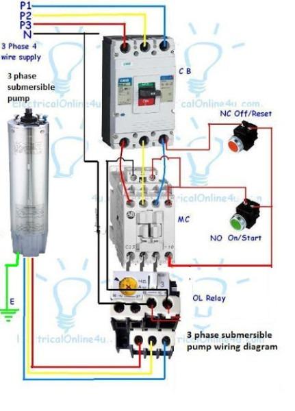 Submersible Pump Schematic Diagram