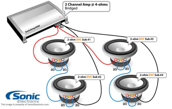 Sony 600w Amp Wiring Diagram