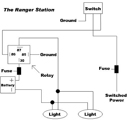 Switch 5 Wire Relay Diagram