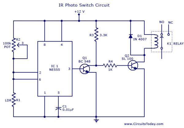 Switch Circuit Diagram