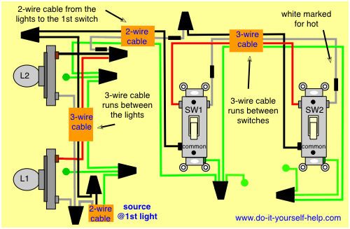 Switch Light Wiring Diagram