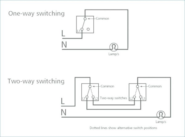Switch Wiring Diagram Uk