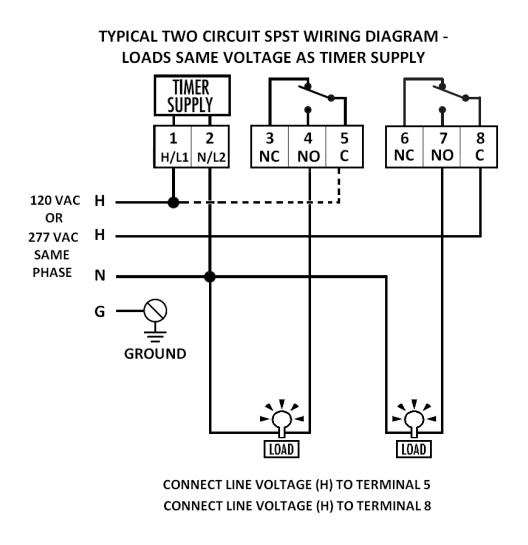 Tork Time Clock Wiring Diagram