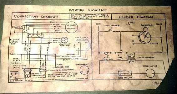 Trane Gas Furnace Wiring Diagram
