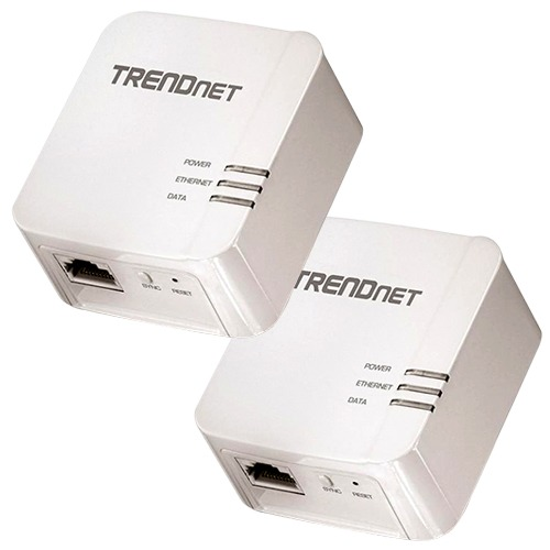 Trendnet Powerline Lets You Extend Your Home Internet Through