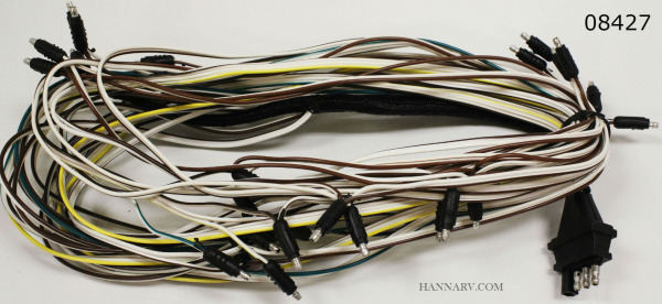 Triton 08427 Snowmobile Trailer Wire Harness