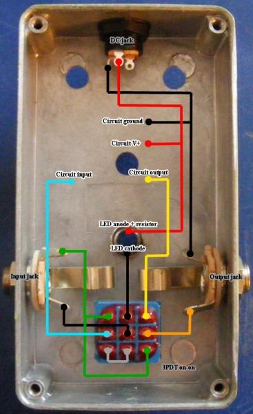 True Bypass Wiring Diagram