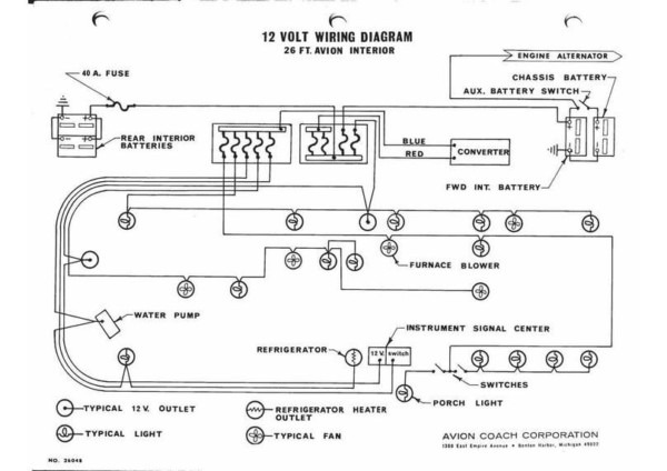 12 Volt Trailer Wiring Diagram
