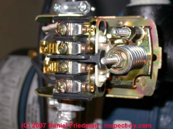 Water Pressure Switch Wiring