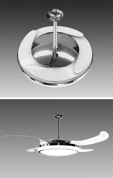 Well I'm A Fan – The New Fanaway Ceiling Fan With Retractable