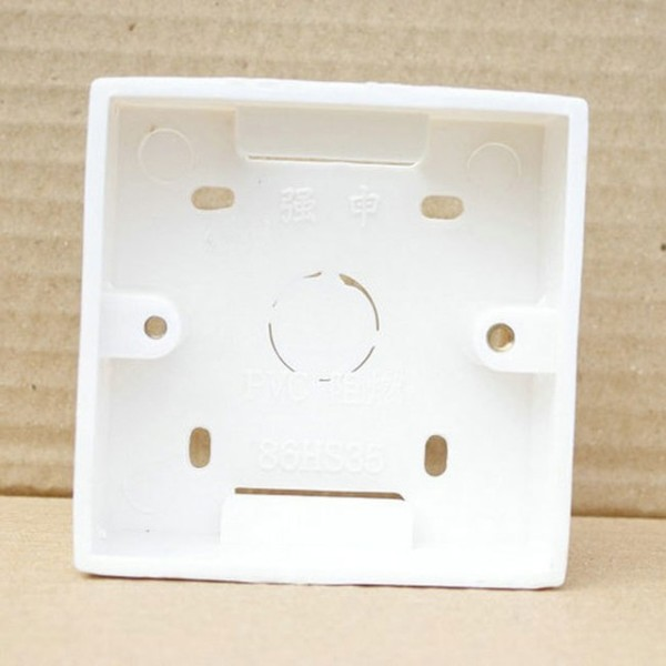 Wholesale Plastic Box Wall Mounting Box For Wall Switch Installed