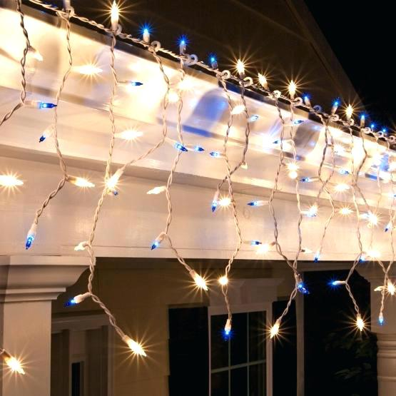 Wire Track Lighting Kits Wire Lighting Clear Blue Icicle Lights