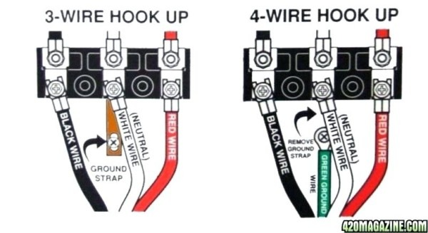 How To Wire A 220 Plug Diagram
