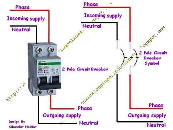 Wiring Diagram Breaker Box