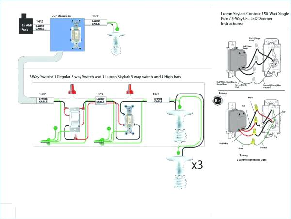 Wiring Diagram For 3 Way Dimmer Switch Led Four New Gets Hot 4