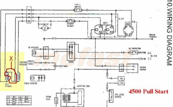 Onan 4000 Wiring Diagram Onan Generator Wiring Diagram For Bgefa J on