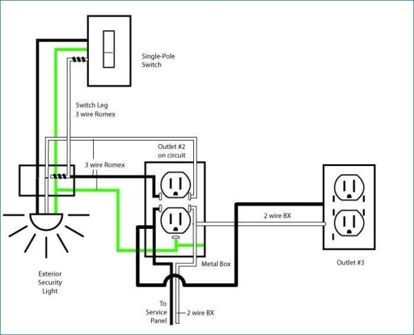 Wiring Diagram Simple Electrical Wiring Diagrams Basic Light