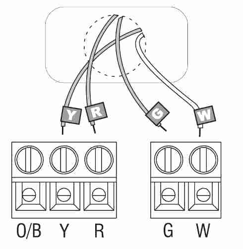 Wiring For Honeywell Thermostat 2 Wire Thermostat Wiring Diagram