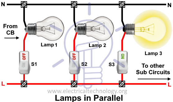 Wiring Lamps In Parallel