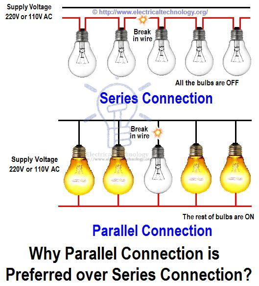 Wiring Lights In Series Vs Parallel