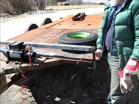 Wiring My Car Trailer Winch