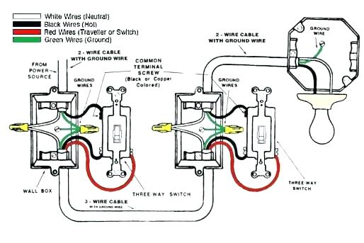 Wiring Two Switches One Light In Box Diagrams