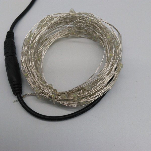 10m 100 Led Outdoor Christmas Fairy Lights Warm White Copper Wire