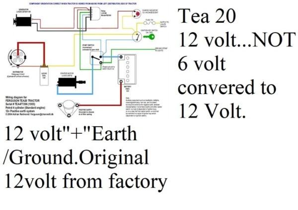 Ferguson Tea 20 Wiring Diagram