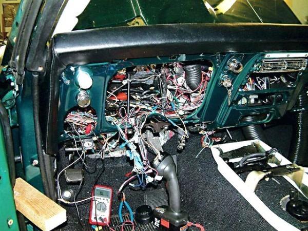 1969 Camaro Wiring Harness Diagram