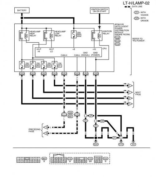 2002 Nissan Frontier Radio Wiring Diagram