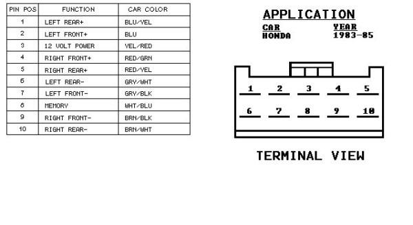 2003 Accord Speaker Wiring Diagram
