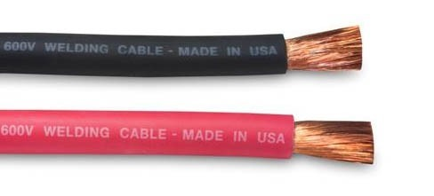 2 Ga  Black Welding Cable