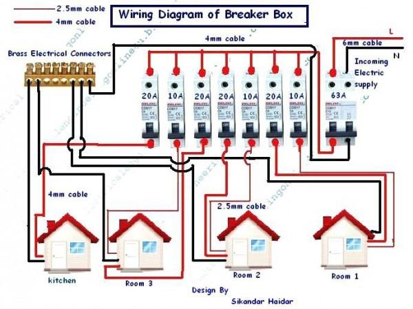 2 Pole Breaker Wiring