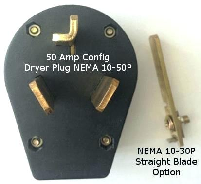 30 Amp Generator Plug Amp 3 Prong Plug Dryer Plugs Vac 3 Prong No
