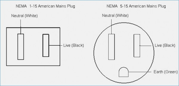 3 prong plug wiring colors