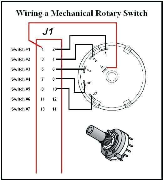 Rotary Switch Wiring Diagram