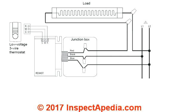 3 Wire Thermostat Wiring Diagram – Unvientreplano Info