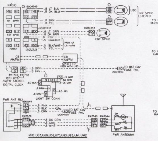 1969 Camaro Wiring Harness Diagram