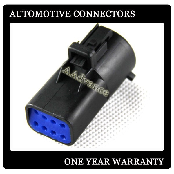 8 Pin Waterproof Connector Fit F Ord Pickup F150 05 07 Trailer