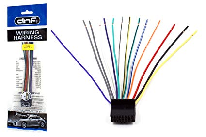 Amazon Com  Dnf Pioneer Wiring Harness 0307 Deh