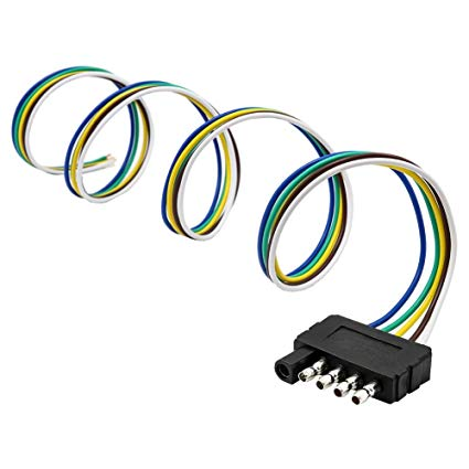 Amazon Com  Encell Trailer Light Wiring Harness Extension 5