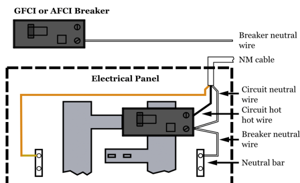 Arc Fault Circuit Breaker Wiring Diagram