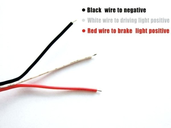 Which Wire Is Positive Black Or White