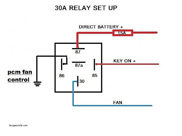 Bosch Type Relay Wiring Diagrams