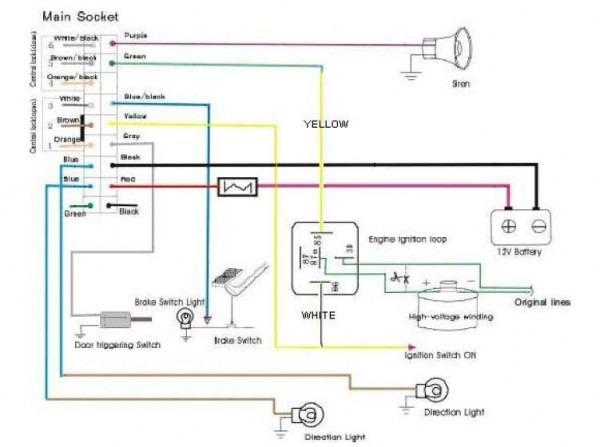 Car Alarm Remote Control Moreover Burglar Alarm Circuit Diagram