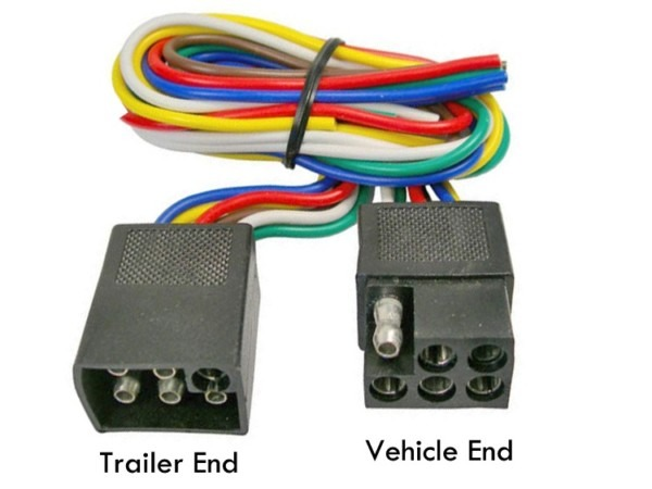 6 Pole Square Trailer Plug Wiring Diagram