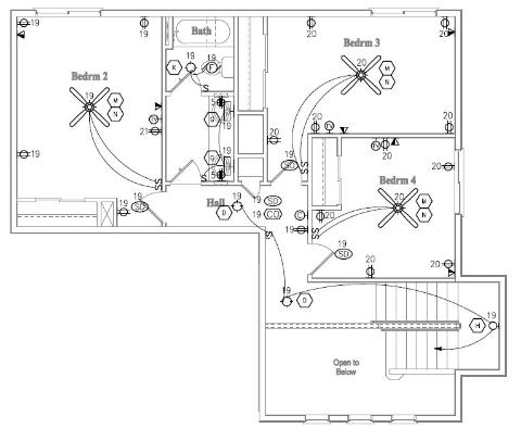Components Of Electrical Plan Layout